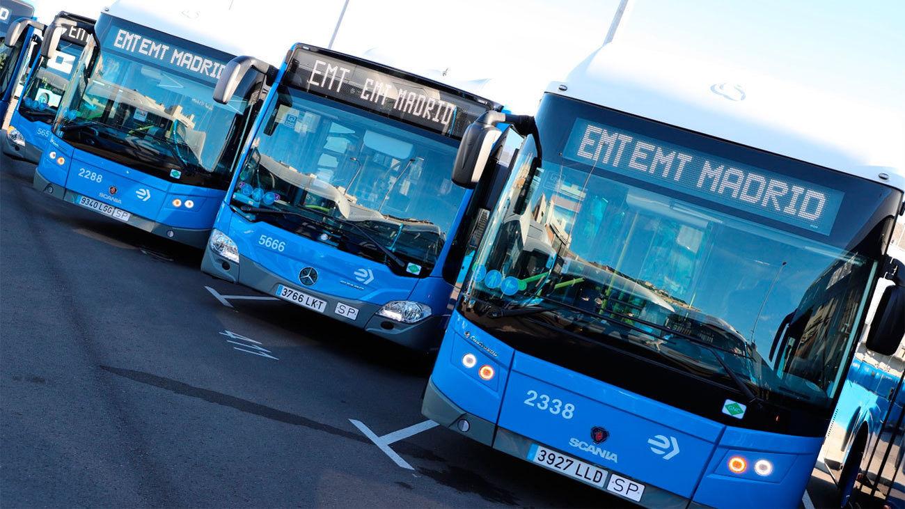 La EMT destina 177 millones a comprar 520 autobuses de gas y 50 eléctricos