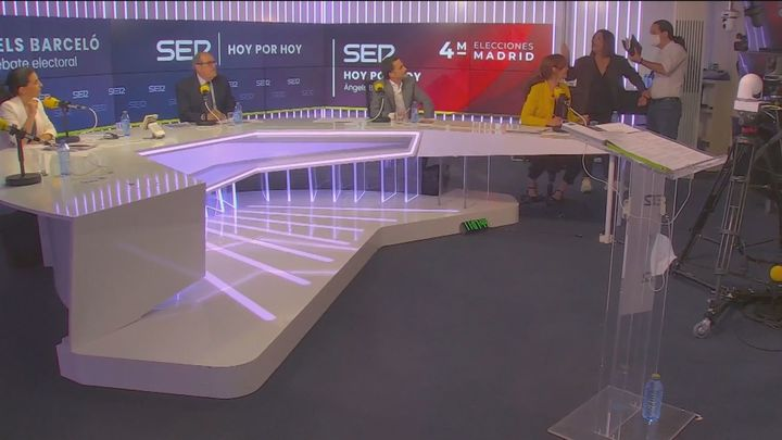 Así fue el bronco debate en la Ser que abandonaron Pablo Iglesias, Mónica García y Ángel Gabilondo