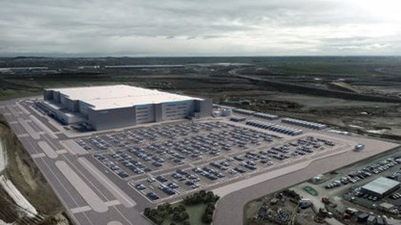 Proyecto del nuevo centro de Amazon en Illescas, Toledo