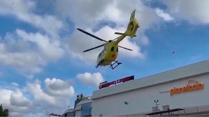Un joven de 24 años grave tras ser arrollado  en su patinete por un vehículo en Collado Villalba