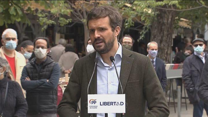 """Casado tilda de gravísimo que el Gobierno acuse al PP en el BOE de """"desmantelar las libertades"""""""