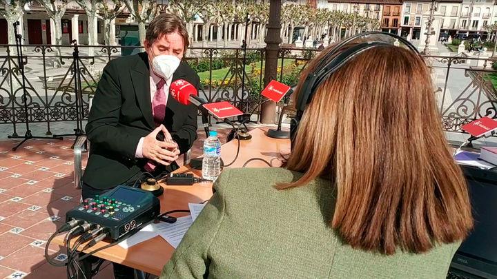 Luis García Montero, director del Instituto Cervantes, presenta la Biblioteca Patrimonial