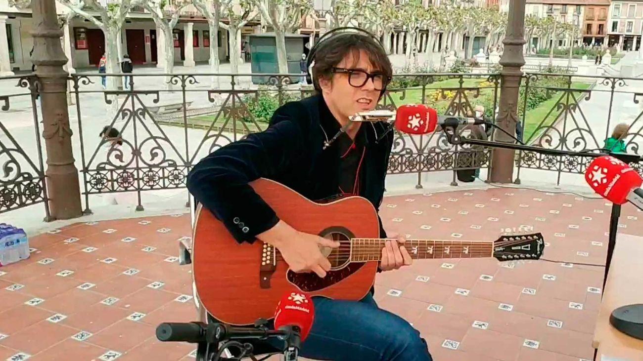 El cantante Guillermo Rayo