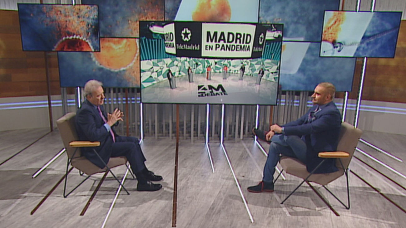 """Campo Vidal afirma que """"el debate lo ganó Telemadrid""""  y destaca el """"giro"""" de Gabilondo hacia Podemos"""