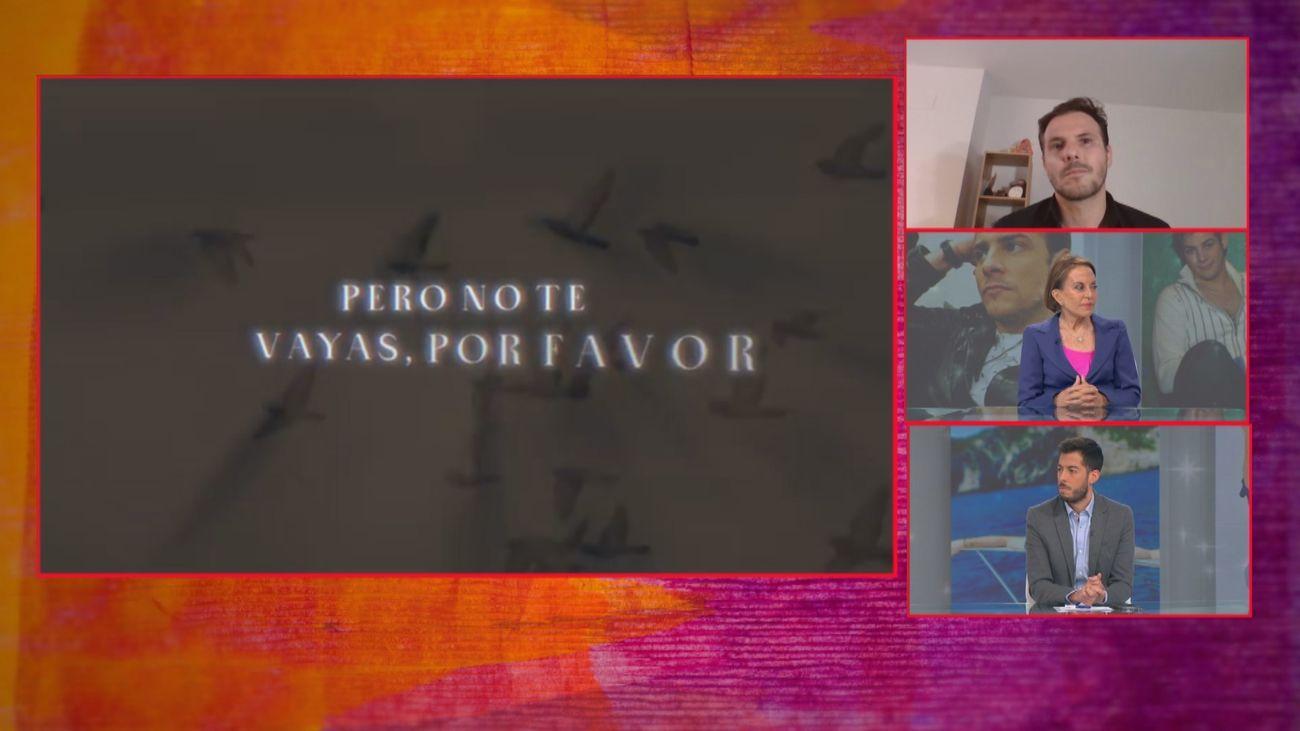 Primera entrevista televisiva de Joan Casademunt para presentar el último tema de Álex