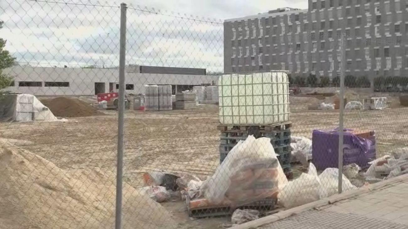 Preocupación en los padres por el retraso de las obras del colegio CEIP Nuria Espert de Valdebebas
