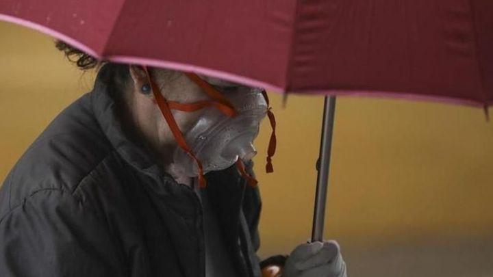 Este domingo, lluvias, tormentas, posible granizo y termómetros más bajos