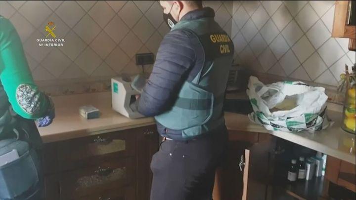 Cae una red de tráfico de cocaína con 20 detenidos
