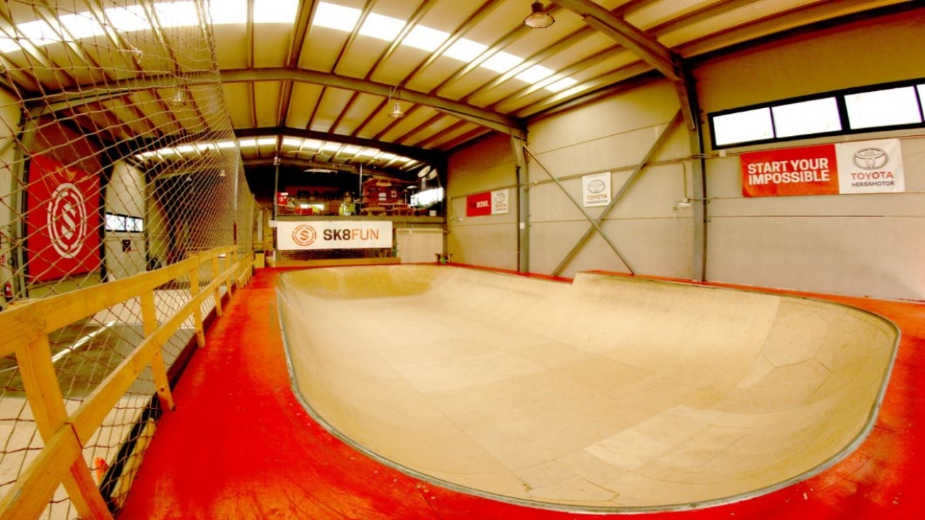 El paraíso para los amantes del skate en Colmenar Viejo