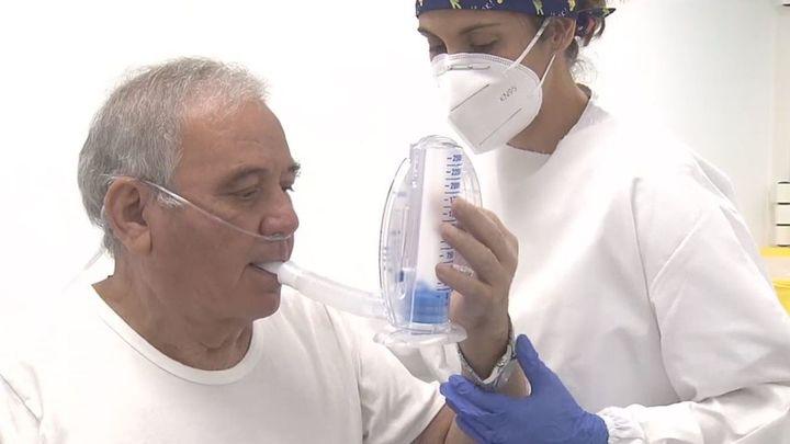La fisioterapia respiratoria, clave en la recuperación de los pacientes post covid
