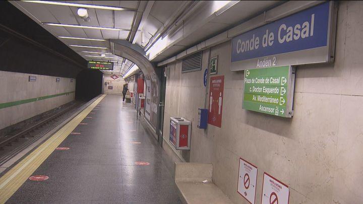 Obras en las líneas 6 y 9 de Metro este verano para el desamiantado de Conde de Casal y Duque de Pastrana