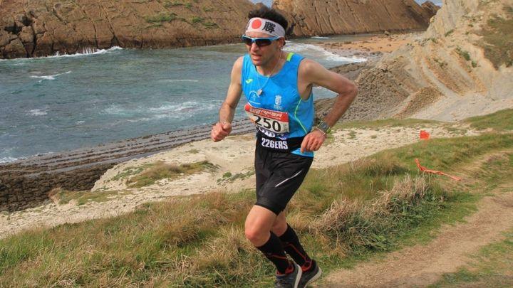 Vicente Capitán volvió al Campeonato de España de Carreras de Montaña