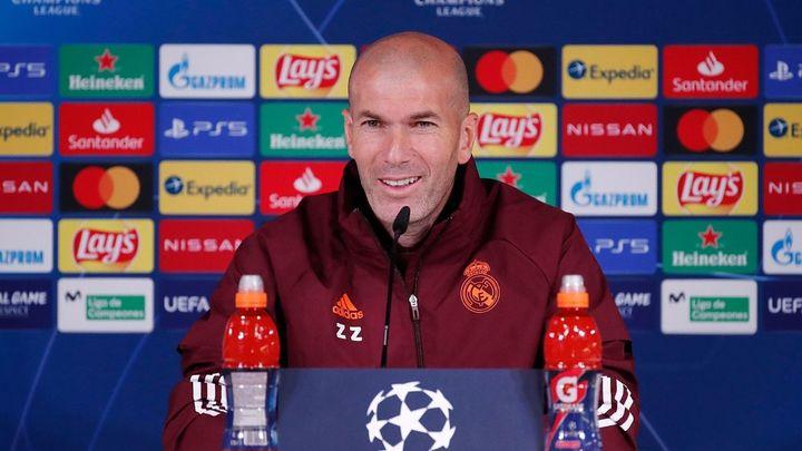 """Zidane: """"El árbitro hará su trabajo, si pensamos otra cosa la liamos"""""""