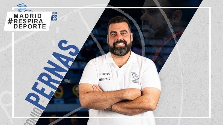 Antonio Pernas renueva dos temporadas con el Baloncesto Leganés