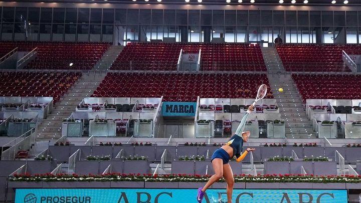 El tenis regresa a Madrid con el 40% de público