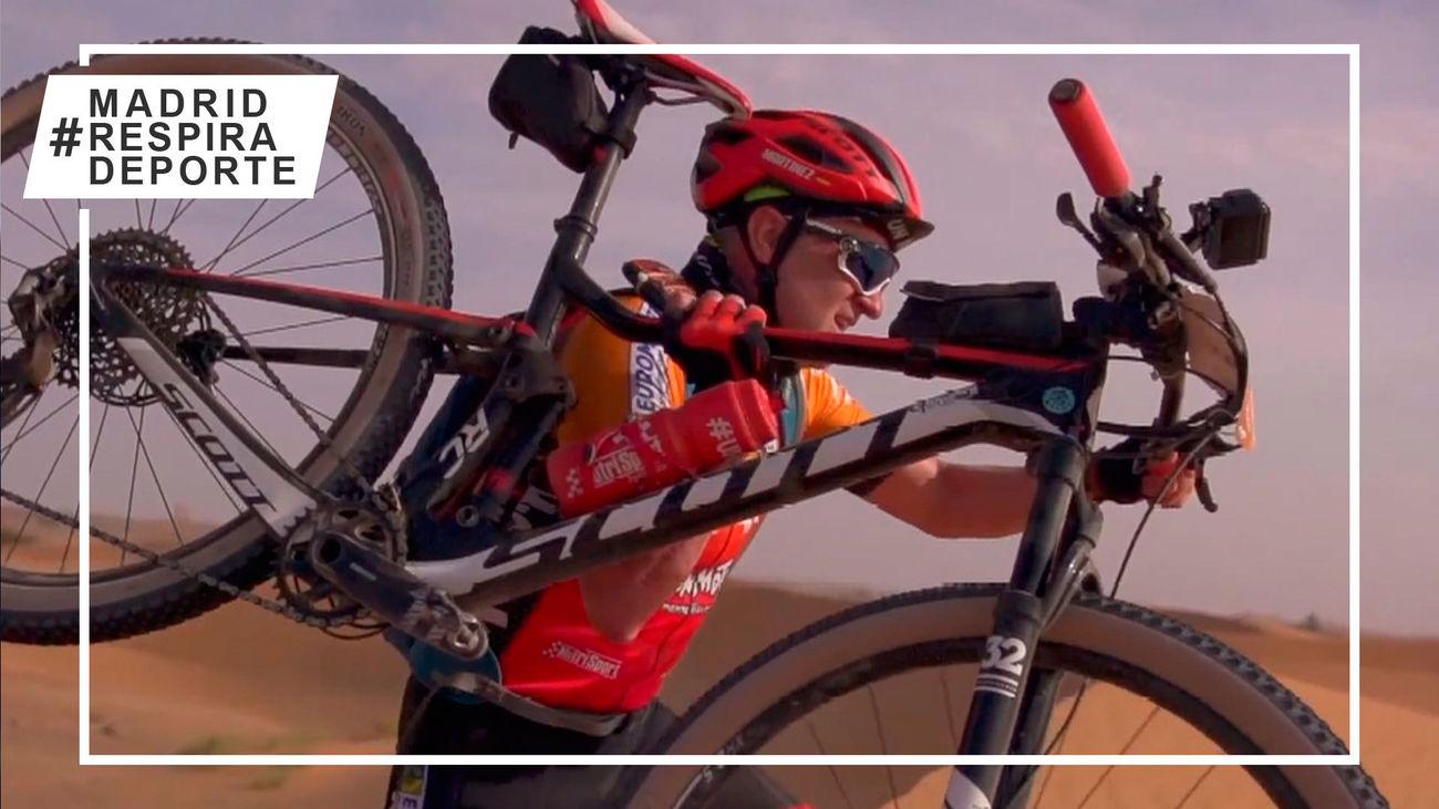 Tomás Martínez combate el cáncer sobre la bicicleta