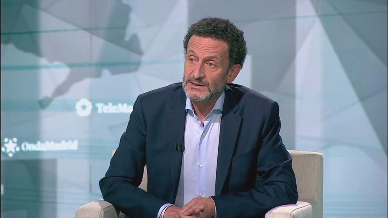 """Edmundo Bal: """"Ciudadanos superará el corte electoral del 5% y me llevaré muy bien con Díaz Ayuso"""""""