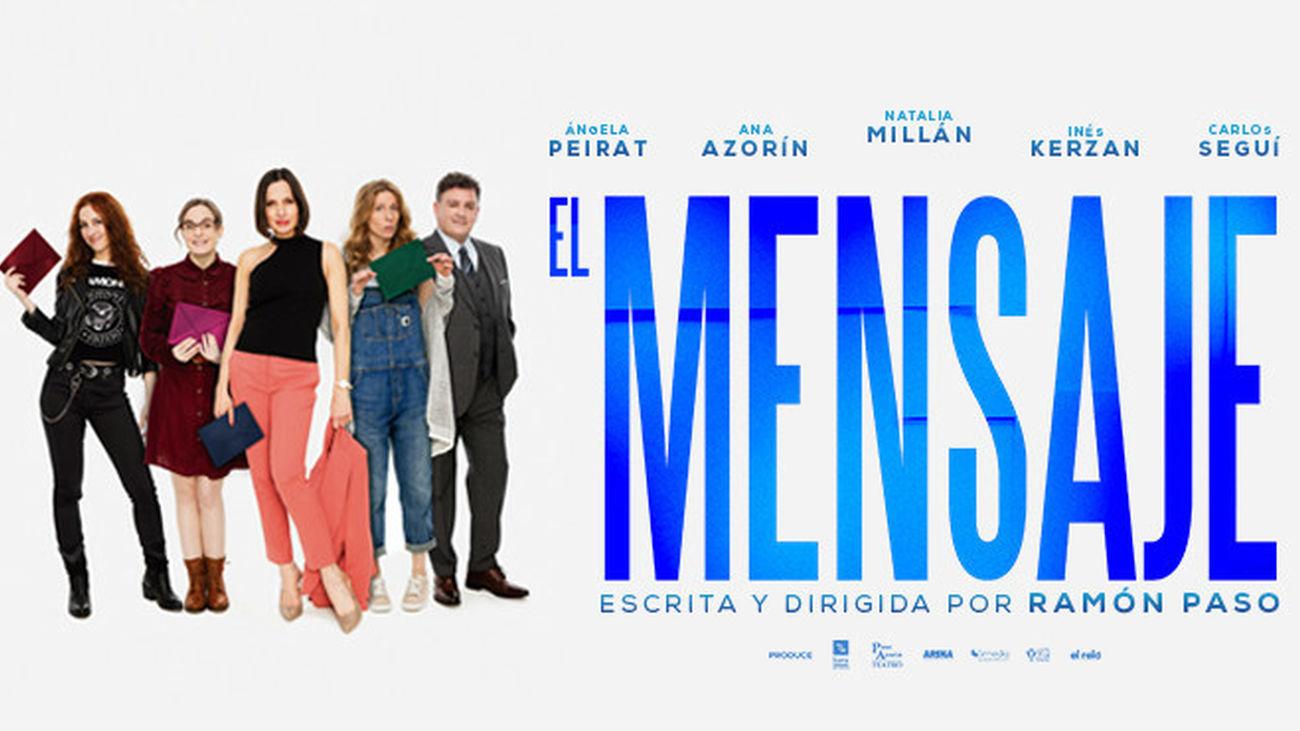'El Mensaje', una comedia con dilema existencial en el Teatro Lara