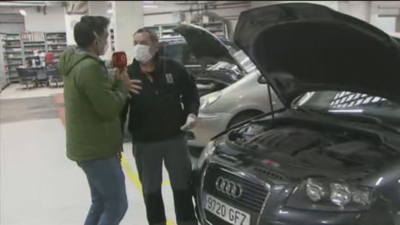 Los talleres de coches piden adelantar las revisiones ante la previsión de viajes tras el fin del estado de alarma