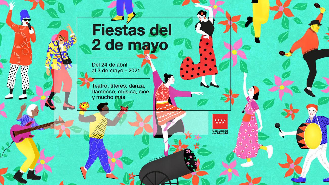 Cartel fiestas del 2 de mayo
