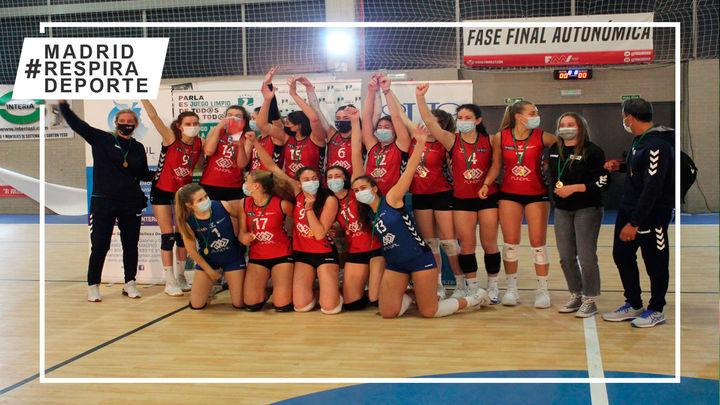 Voleibol Alcobendas, campeón de Madrid Cadete
