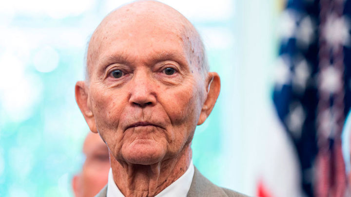 Muere el astronauta Michael Collins, uno de los tres que llegaron a la Luna