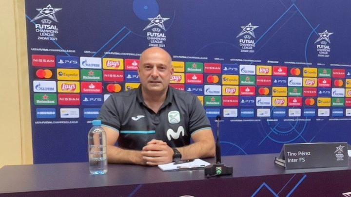 """Tino Pérez, entrenador de Inter: """"Para ganar la Champions debemos ser humildes"""""""