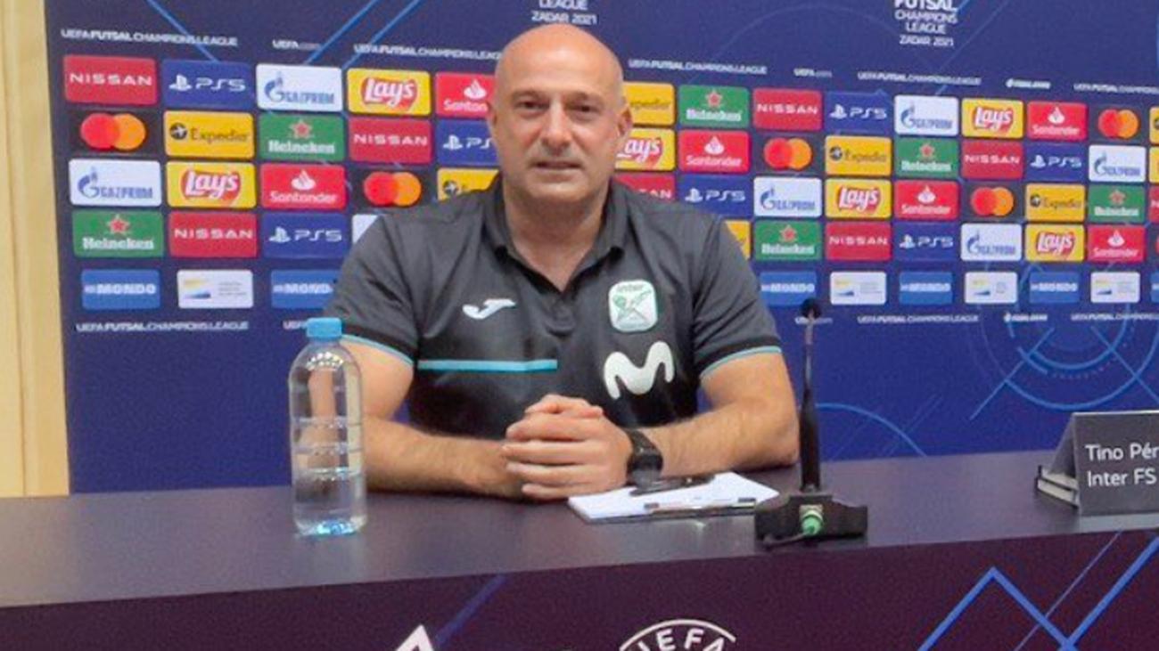 Tino Pérez, entrenador de Inter Movistar