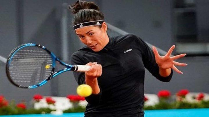Muguruza, baja en el Madrid Open por una lesión muscular