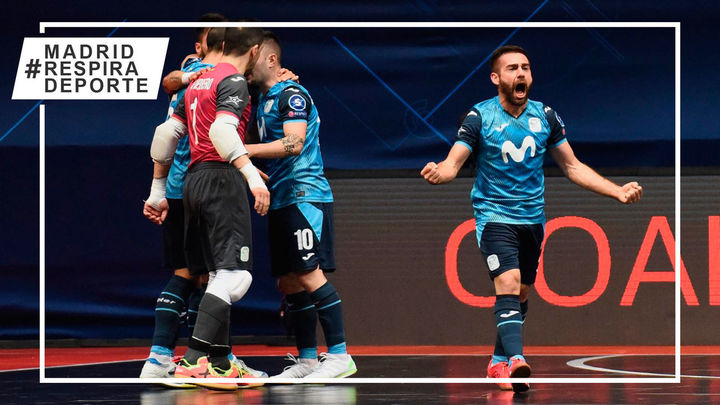 0-3. Movistar Inter, a semifinales de la Liga de Campeones tras golear al Ugra