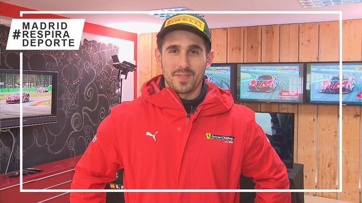 Sergio Paulet, pilotando retos a la velocidad de un coche