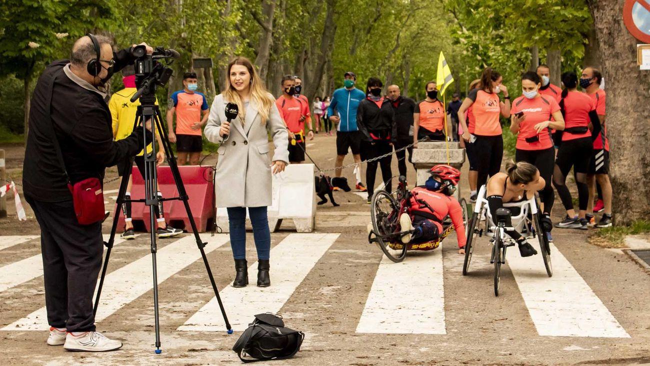 Atletismo en la Casa de Campo, esgrima en Madrid y duatlón en Alcobendas