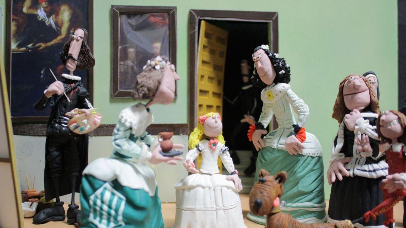 La Historia de la Humanidad contada con figuras de plastilina