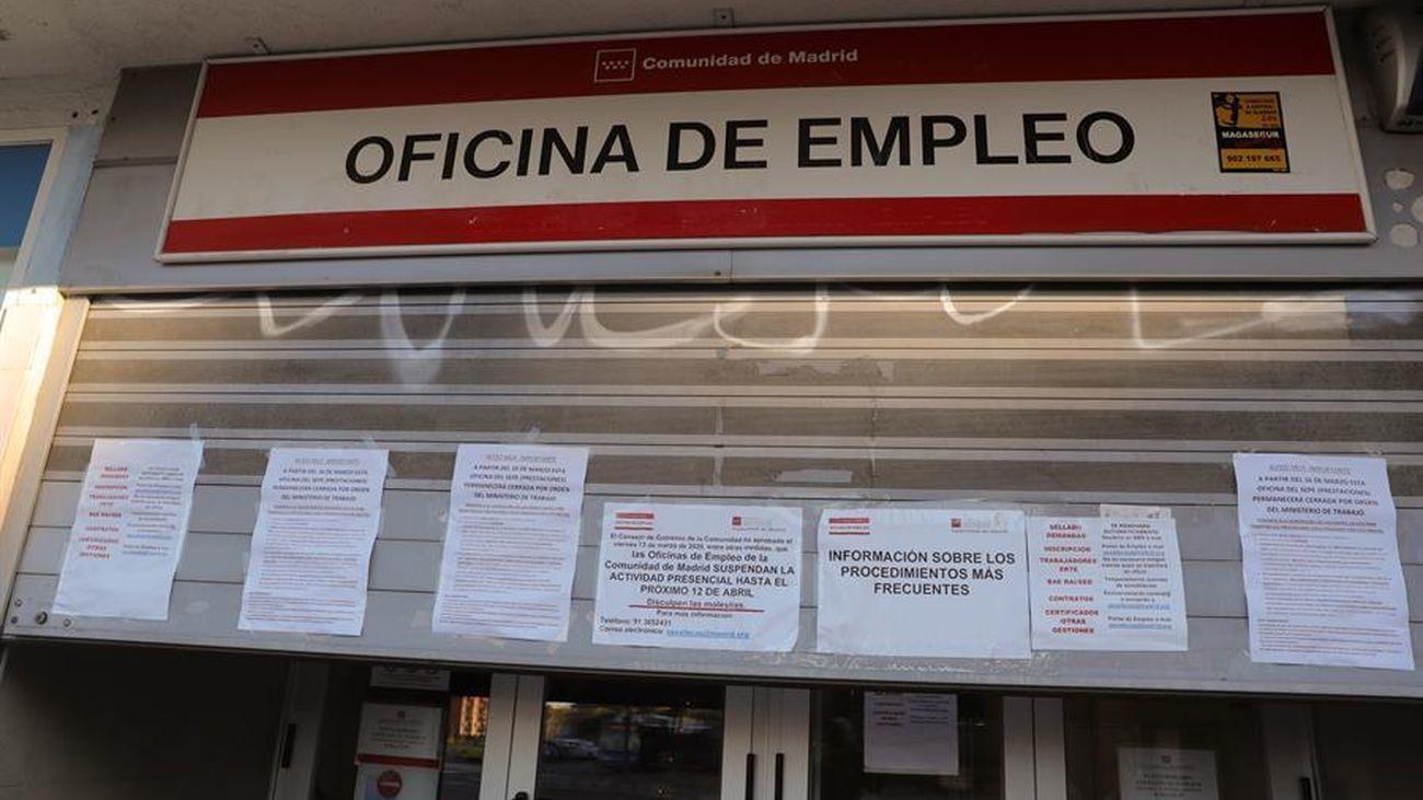 Sube el paro en España, según la Encuesta de Población Activa (EPA)
