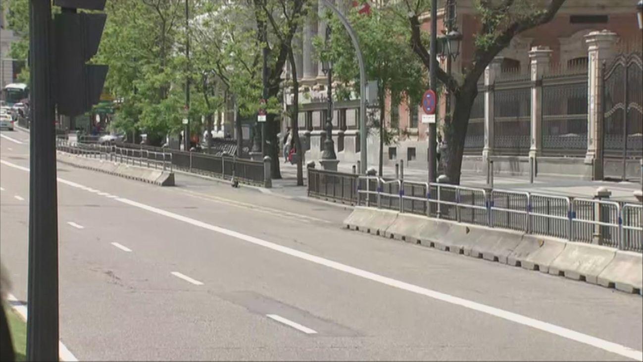 Las obras en la calle Alcalá entre Cibeles y Cedaceros recuperarán su espíritu de bulevar