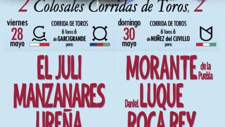 Las corridas de toros vuelven a Aranjuez veinte meses después