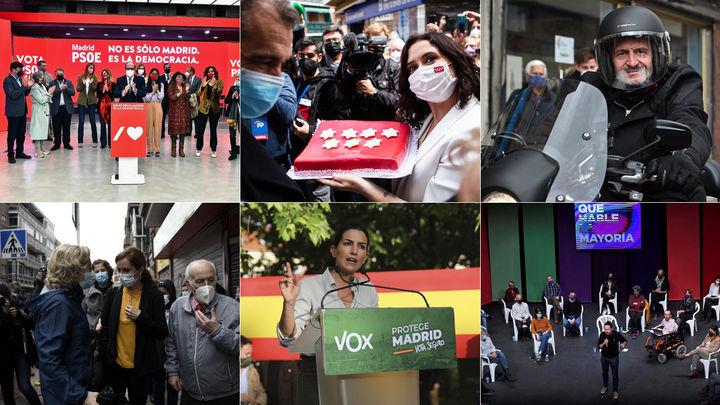 Diario de las elecciones 4-M (día 13)