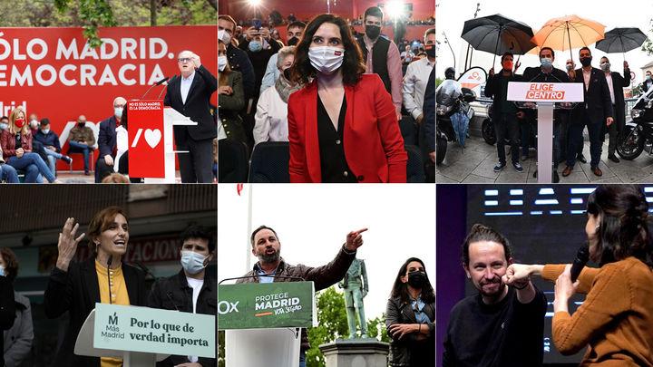 Diario de las elecciones 4-M (día 14)
