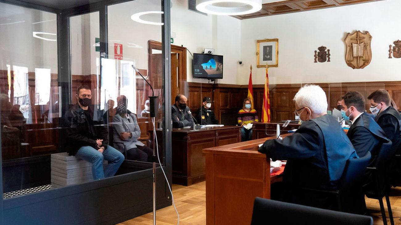 'Igor el Ruso' en el banquillo durante el juicio