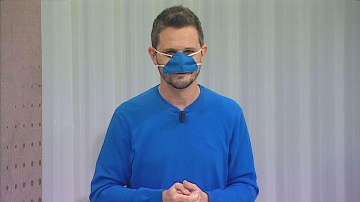 'Mask Eating': ¿Es segura la mascarilla nasal frente al covid?