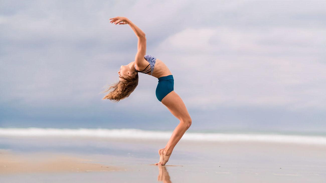 Danza en la playa