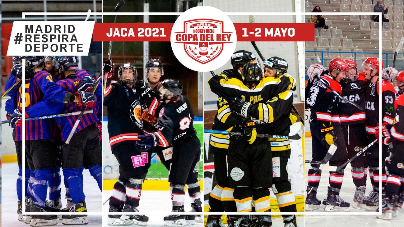 Cartel de la Copa del Rey de hockey hielo
