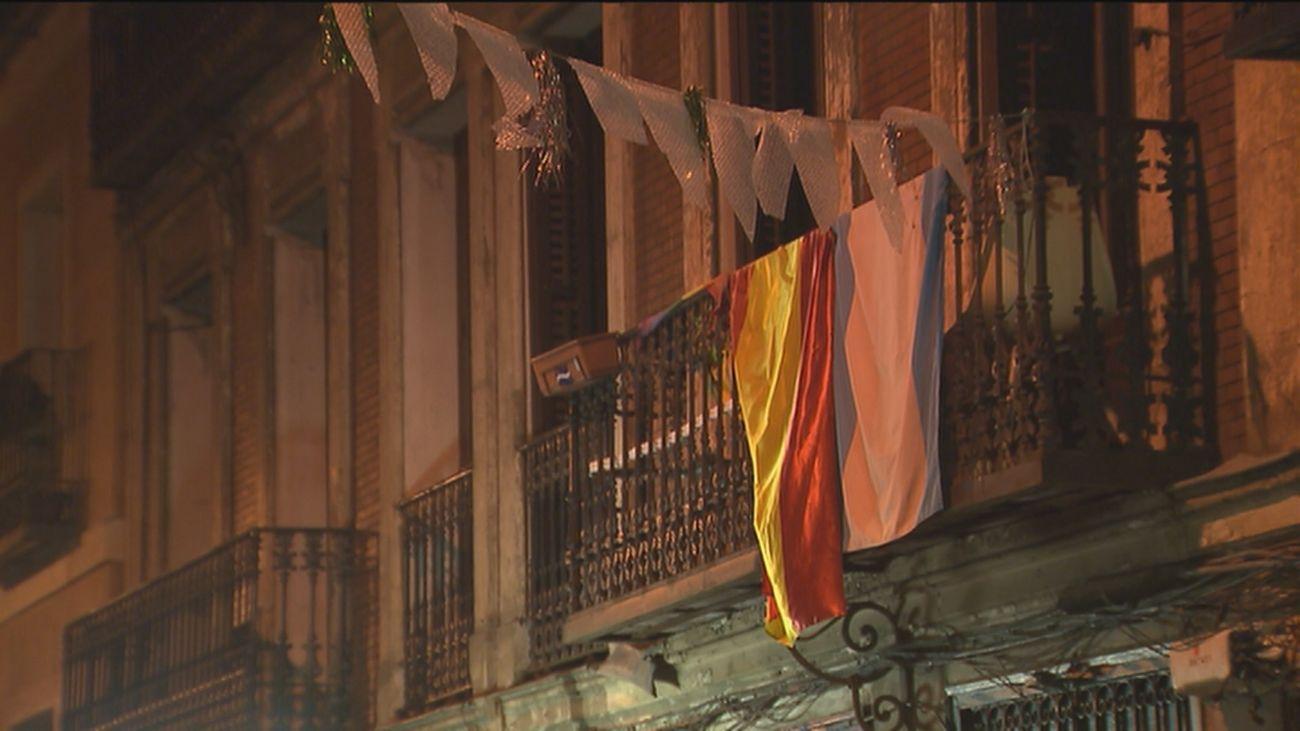 El barrio de Malasaña vuelve a celebrar sus fiestas populares en formato reducido