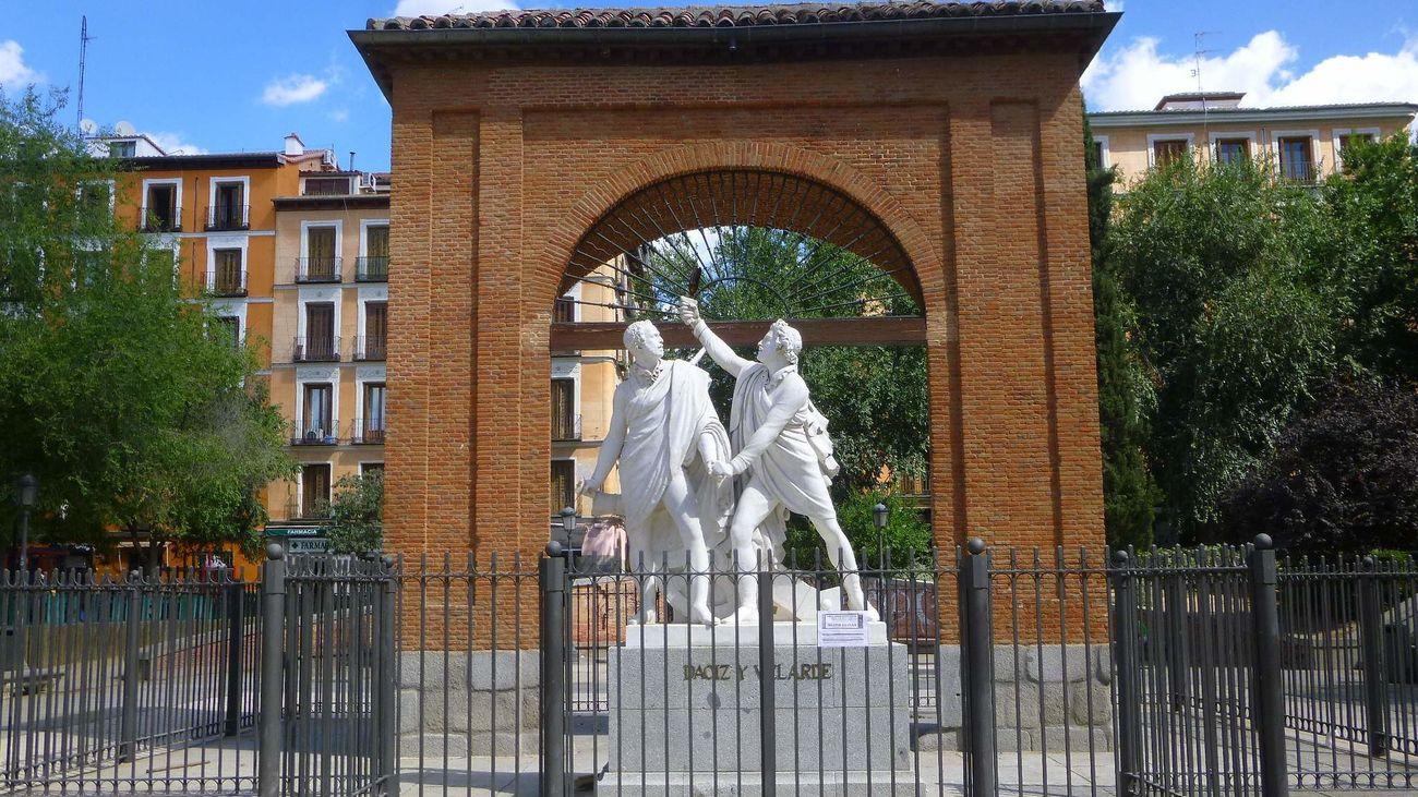 La plaza del dos de mayo