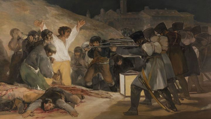 ¿Es un plagio el cuadro de los fusilamientos de Goya?