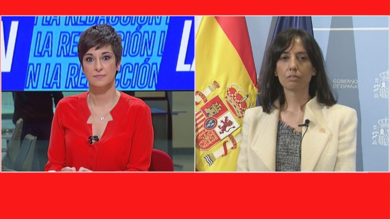 La delegada del Gobierno en Madrid cree que no son comparables las manifestaciones del 1 de mayo con el 8M