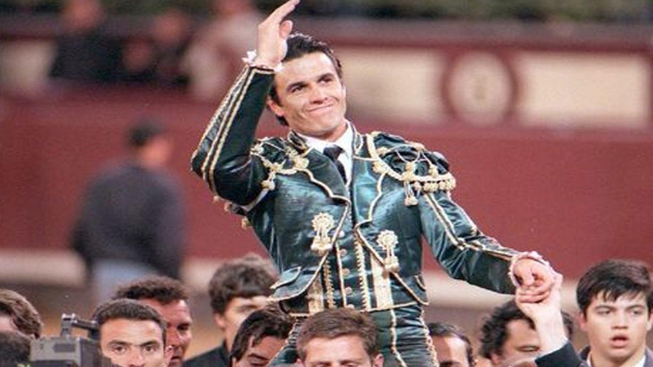 Joselito triunfó en la corrida goyesca de las Ventas un 2 de mayo de 1996