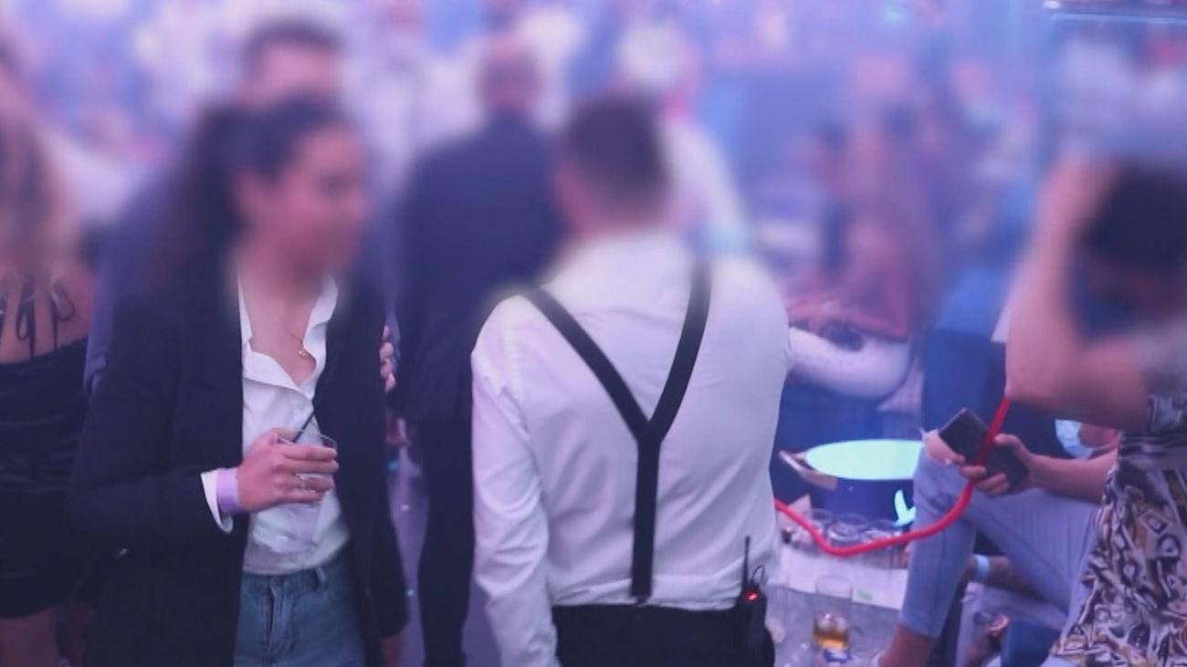 Fiesta ilegal en Madrid