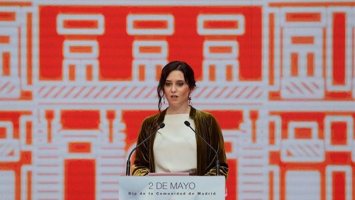 Documento de denuncia del PSOE a Isabel Díaz Ayuso por los actos del 2 de mayo