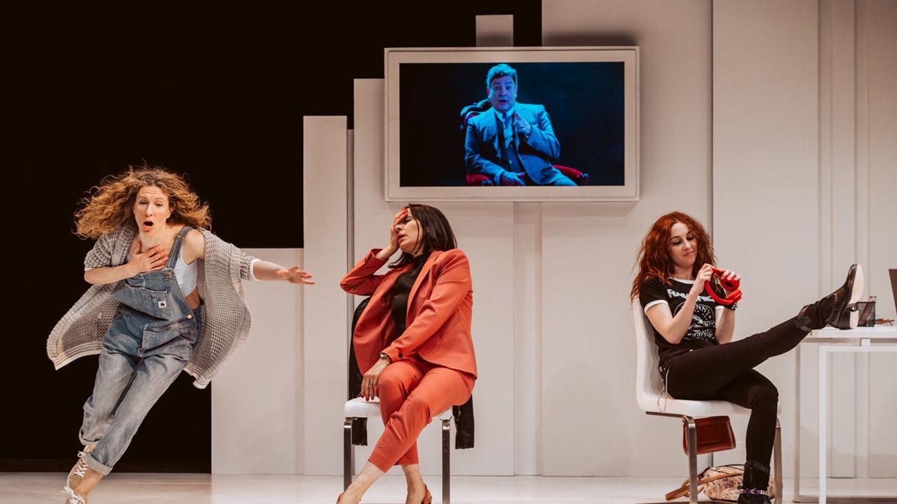 'El mensaje', un enredo clásico de comedia con nuevas tecnologías, se estrena en el Teatro Lara